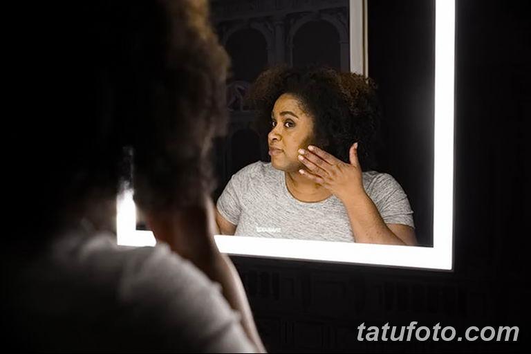 Факторы которые могут стать причиной угасания тату - фото - очищение кожи