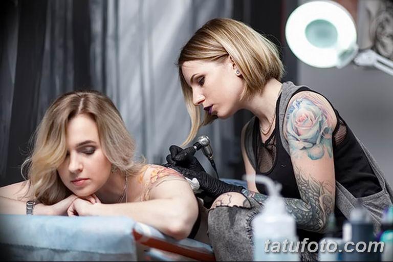 Факторы которые могут стать причиной угасания тату - фото - средства для заживления