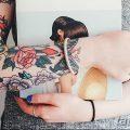 Фото подростковой татуировки 30.01.2019 №004 - teen tattoo photo - tatufoto.com