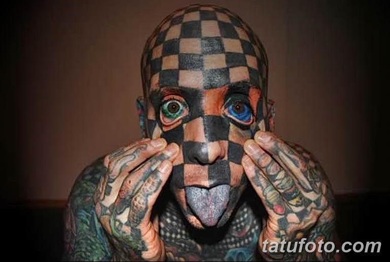 фото Мэтт Гоне тату в квадрат 04.01.2019 №001 - Matt Gone tattoo - tatufoto.com