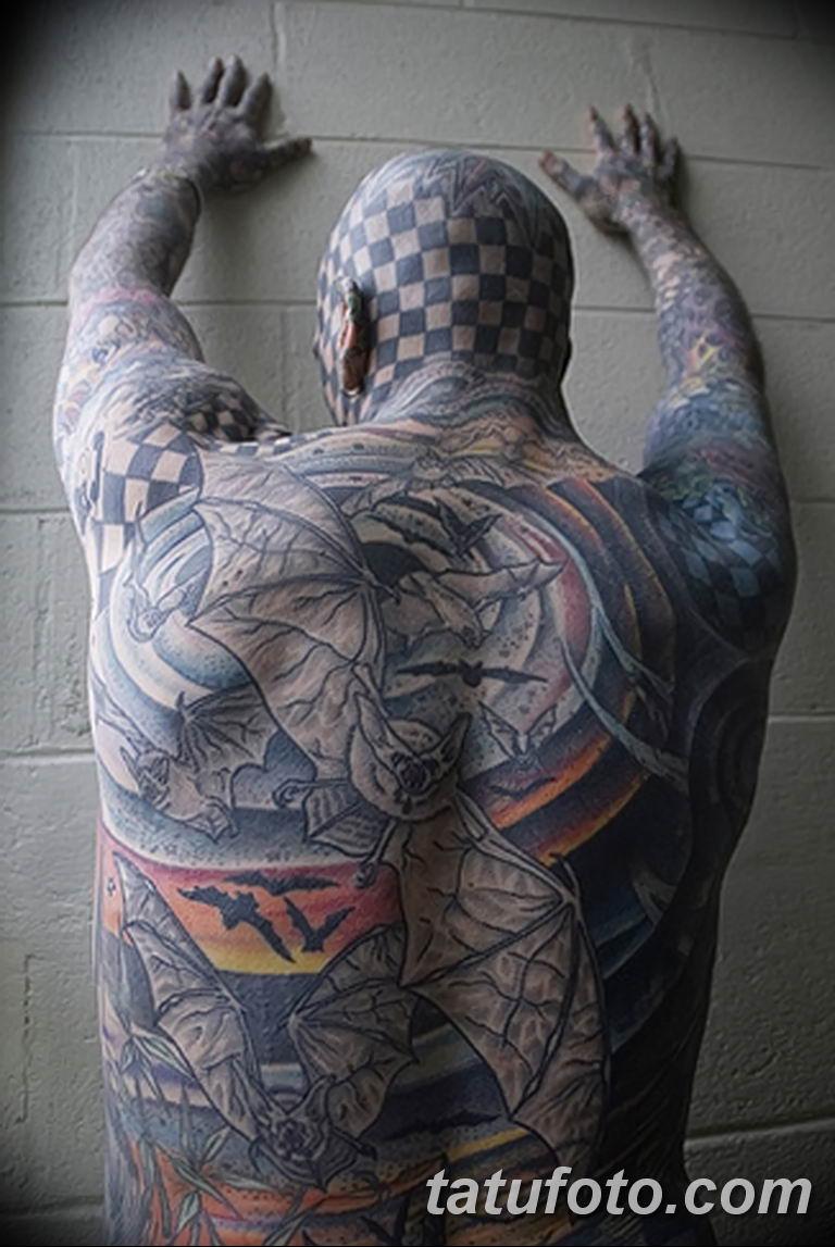 фото Мэтт Гоне тату в квадрат 04.01.2019 №075 - Matt Gone tattoo - tatufoto.com
