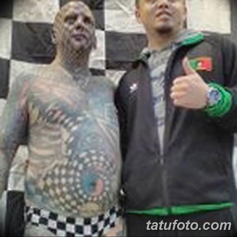 фото Мэтт Гоне тату в квадрат 04.01.2019 №088 - Matt Gone tattoo - tatufoto.com
