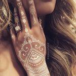 фото мехенди кольца на пальцах 25.01.2019 №025 - photo mehendi rings - tatufoto.com