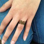фото мехенди кольца на пальцах 25.01.2019 №028 - photo mehendi rings - tatufoto.com