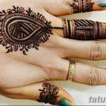 фото мехенди кольца на пальцах 25.01.2019 №030 - photo mehendi rings - tatufoto.com