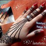 фото мехенди кольца на пальцах 25.01.2019 №031 - photo mehendi rings - tatufoto.com