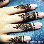 фото мехенди кольца на пальцах 25.01.2019 №038 - photo mehendi rings - tatufoto.com