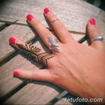 фото мехенди кольца на пальцах 25.01.2019 №039 - photo mehendi rings - tatufoto.com
