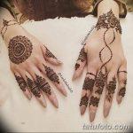 фото мехенди кольца на пальцах 25.01.2019 №066 - photo mehendi rings - tatufoto.com