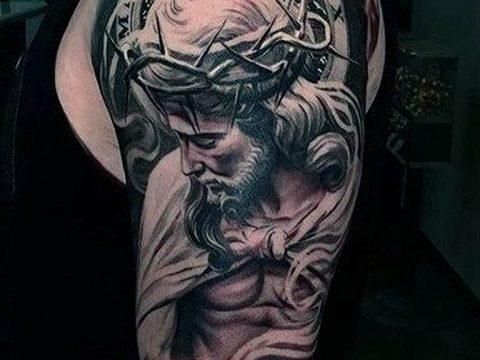 фото религиозных тату 25.01.2019 №006 - photo religious tattoo - tatufoto.com