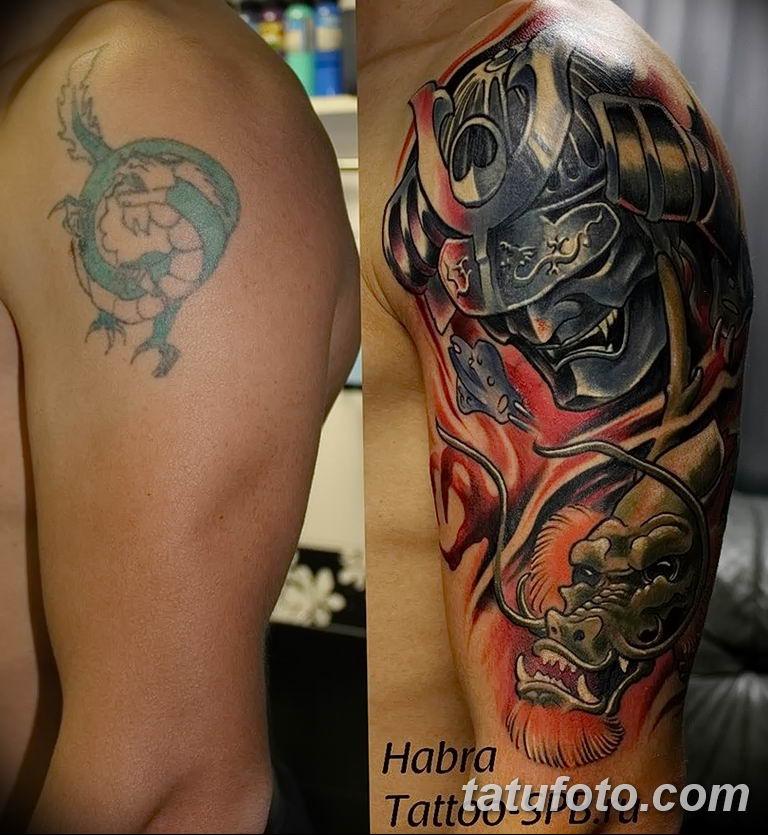 фото рисунка тату японской тематики 04.01.2019 №179 - Japanese tattoo - tatufoto.com