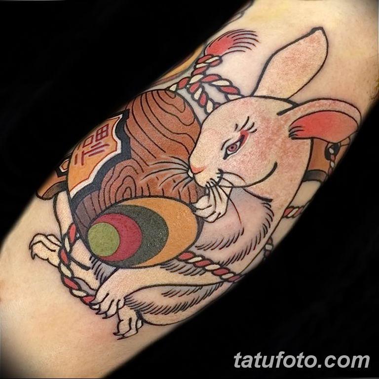 фото рисунка тату японской тематики 04.01.2019 №319 - Japanese tattoo - tatufoto.com