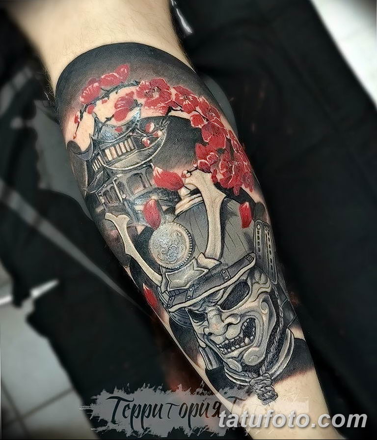фото рисунка тату японской тематики 04.01.2019 №420 - Japanese tattoo - tatufoto.com