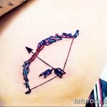 фото тату лук и стрелы 21.01.2019 №018 - photo tattoo bow and arrow - tatufoto.com