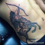 фото тату лук и стрелы 21.01.2019 №025 - photo tattoo bow and arrow - tatufoto.com