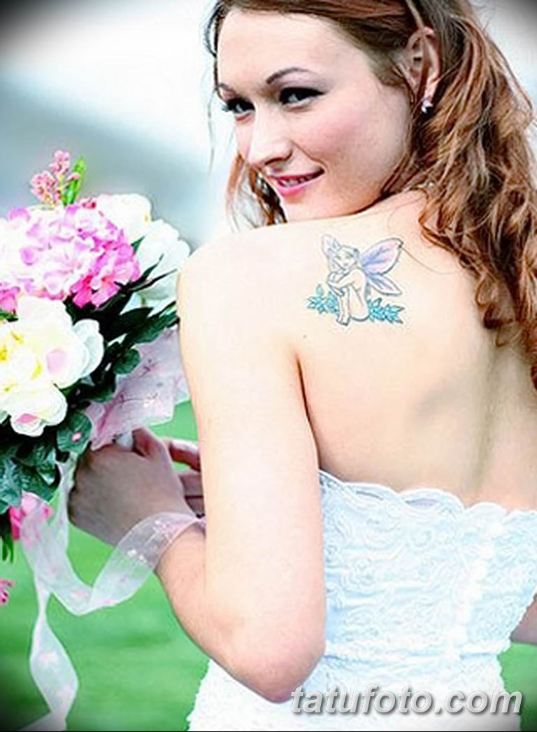 фото тату на свадьбе 30.01.2019 №044 - wedding tattoo photo - tatufoto.com
