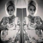 фото тату стоили женщине из Эмералда работы 18.01.2019 №020 - tattoo - tatufoto.com