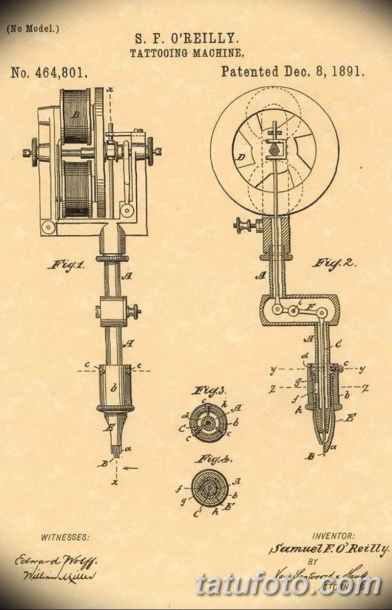 Самуэль О'Райли - человек который изобрел современную тату-машинку - фото 2