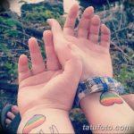 Фото тату ЛГБТ (геев и лесбиянок) 26.02.2019 №027 - LGBT tattoo photos - tatufoto.com