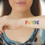 Фото тату ЛГБТ (геев и лесбиянок) 26.02.2019 №028 - LGBT tattoo photos - tatufoto.com