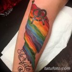 Фото тату ЛГБТ (геев и лесбиянок) 26.02.2019 №036 - LGBT tattoo photos - tatufoto.com