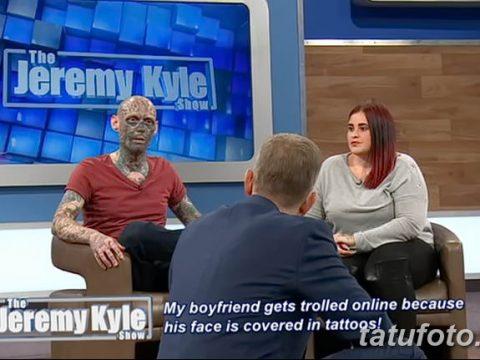 Шоу Джереми Кайла - татуированный гость удивляет гостей студии - фото 2