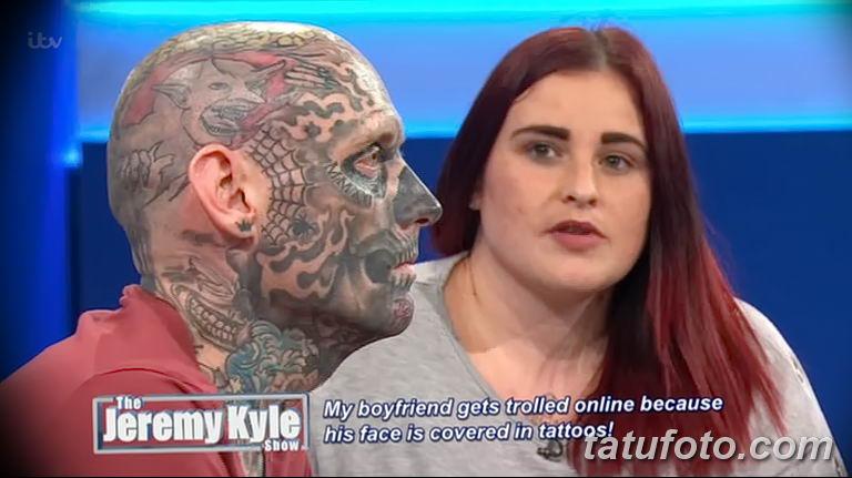 Шоу Джереми Кайла - татуированный гость удивляет гостей студии - фото 3
