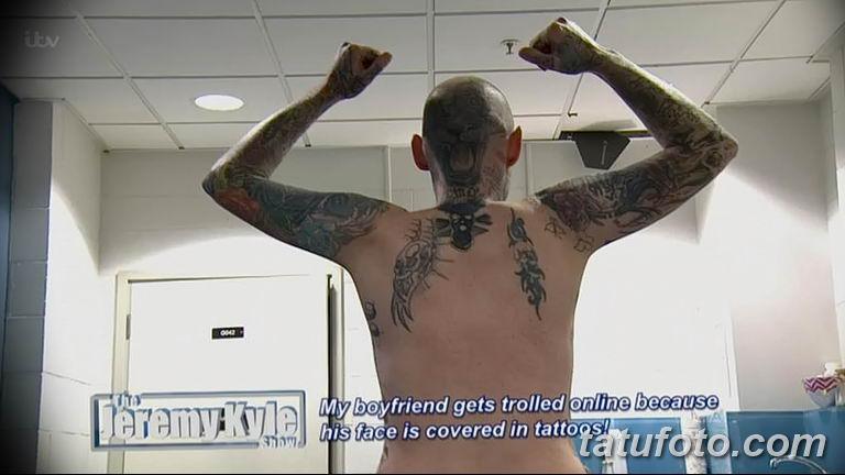 Шоу Джереми Кайла - татуированный гость удивляет гостей студии - фото 5