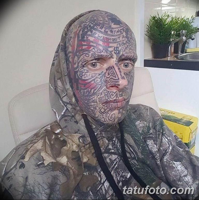 фото людей у которых много татуировок 23.02.2019 №112 - tattoo - tatufoto.com