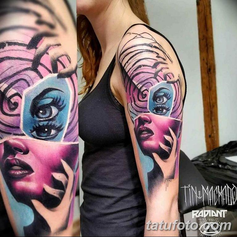 фото современной тату 01.02.2019 №134 - photos of modern tattoos - tatufoto.com