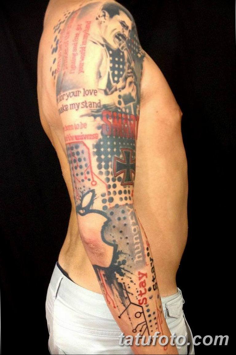 фото современной тату 01.02.2019 №301 - photos of modern tattoos - tatufoto.com