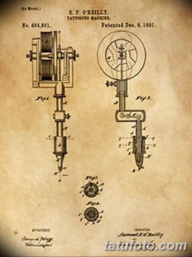 фото старинная тату машинка 08.02.2019 №005 - vintage tattoo machines - tatufoto.com