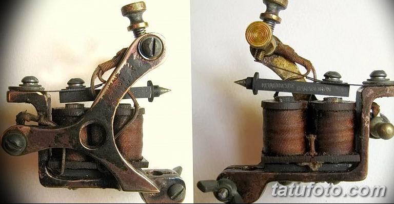 фото старинная тату машинка 08.02.2019 №013 - vintage tattoo machines - tatufoto.com