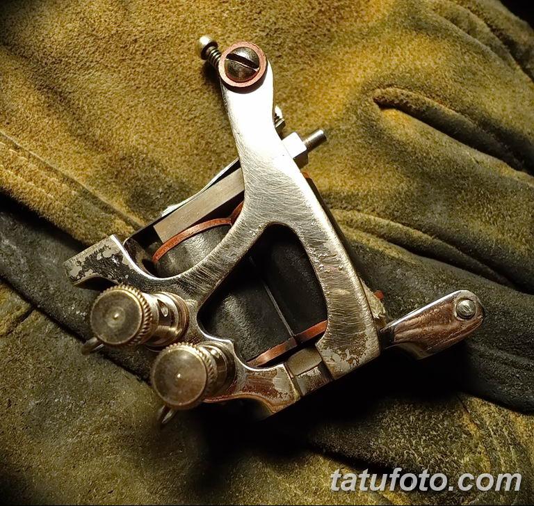 фото старинная тату машинка 08.02.2019 №032 - vintage tattoo machines - tatufoto.com