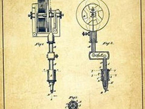 фото старинная тату машинка 08.02.2019 №040 - vintage tattoo machines - tatufoto.com
