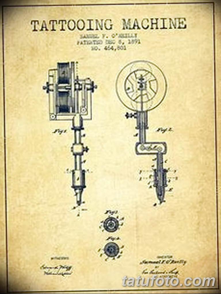 Самуэль О'Райли — человек, который изобрел современную тату-машинку.