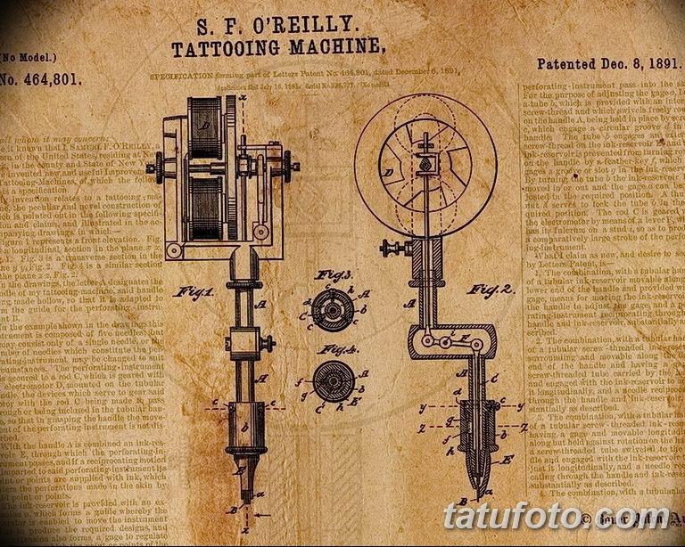 фото старинная тату машинка 08.02.2019 №042 - vintage tattoo machines - tatufoto.com