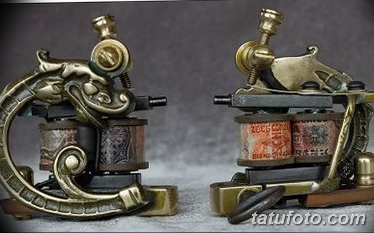 фото старинная тату машинка 08.02.2019 №046 - vintage tattoo machines - tatufoto.com
