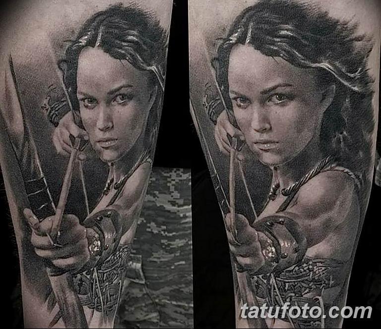 фото тату женщина амазонка 06.02.2019 №007 - photo tattoo woman amazon - tatufoto.com