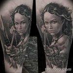 фото тату женщина амазонка 06.02.2019 №023 - photo tattoo woman amazon - tatufoto.com