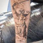 фото тату памятник Родина Мать 05.02.2019 №021 - tattoo Motherland - tatufoto.com