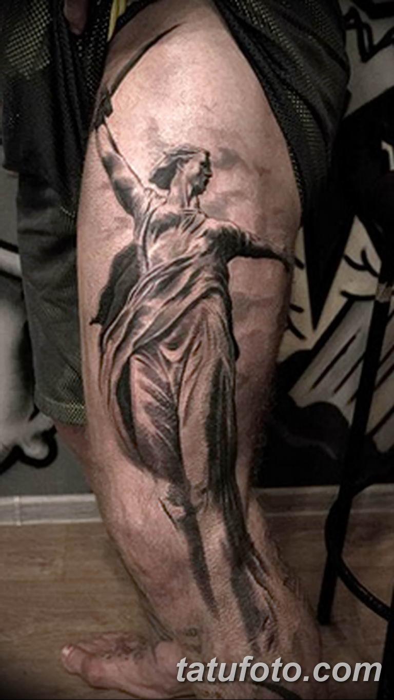 фото тату памятник Родина Мать 05.02.2019 №030 - tattoo Motherland - tatufoto.com