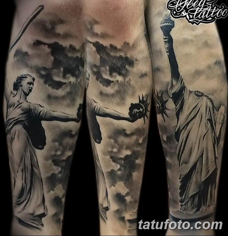 фото тату памятник Родина Мать 05.02.2019 №035 - tattoo Motherland - tatufoto.com