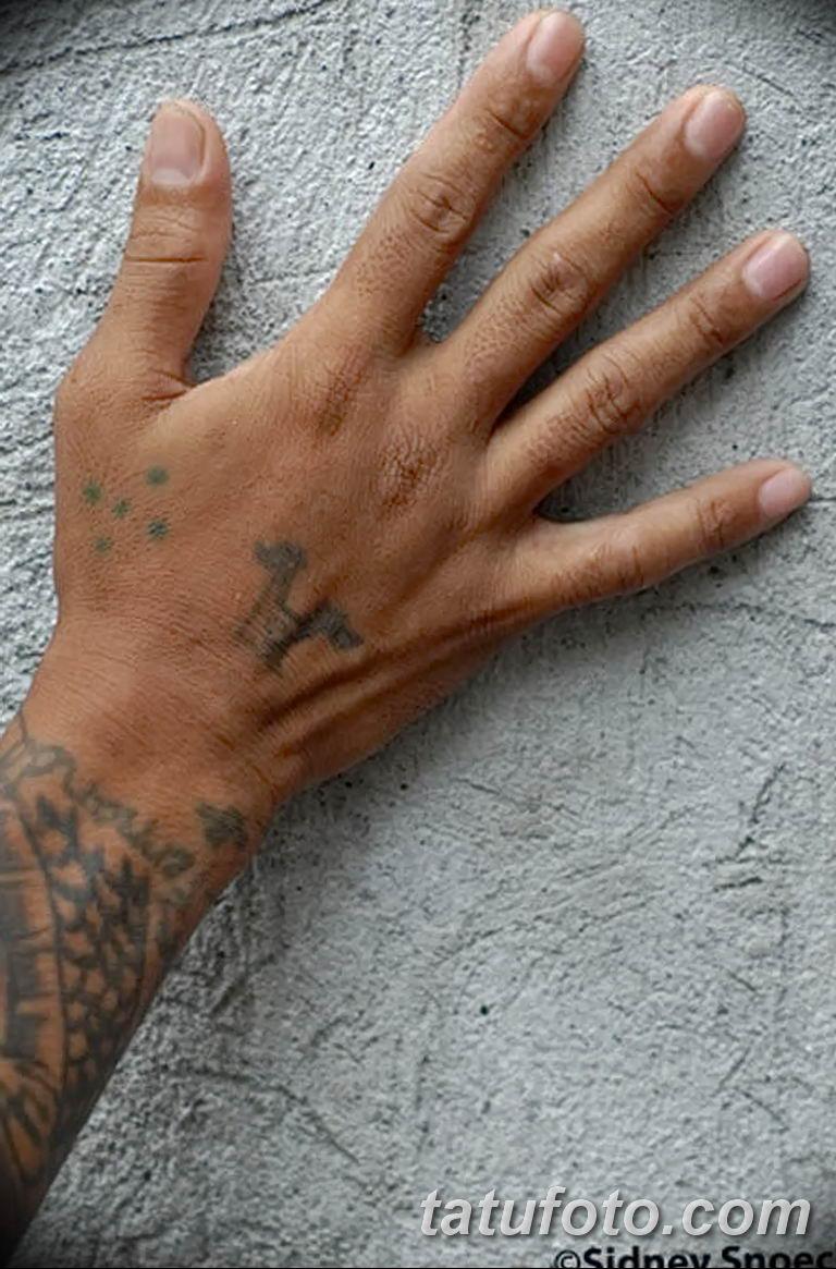 фото тату пять точек 08.02.2019 №007 - tattoo photo five points - tatufoto.com