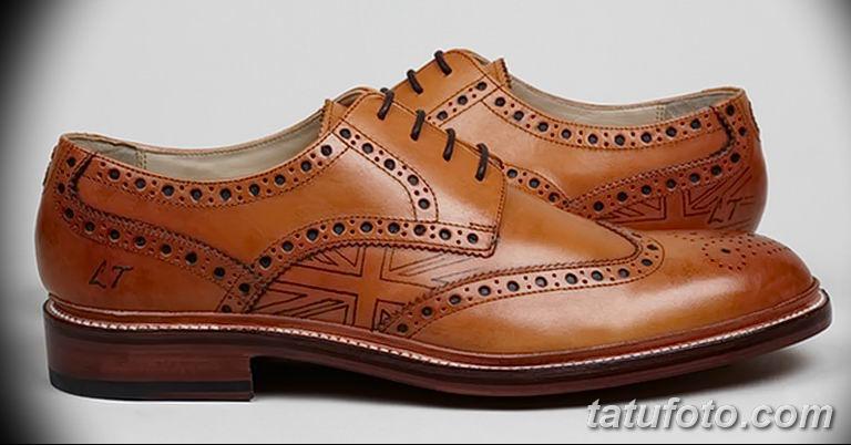 Обувь с тату - фото 2
