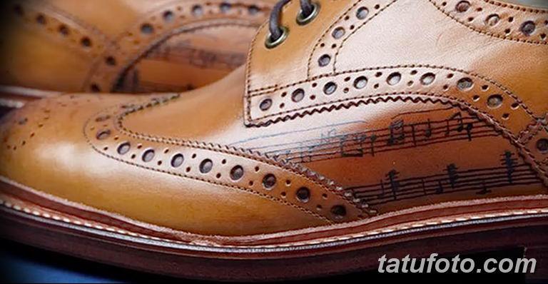 Обувь с тату - фото 3