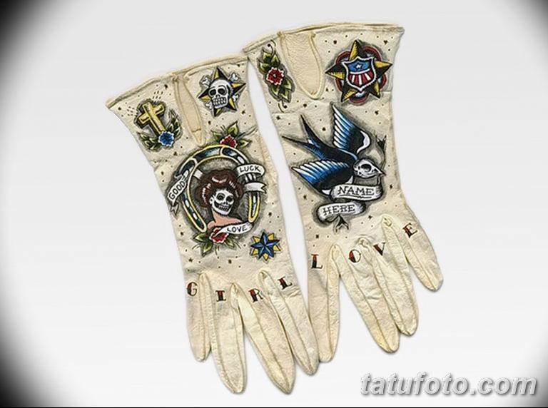 Перчатки с тату - фото 2