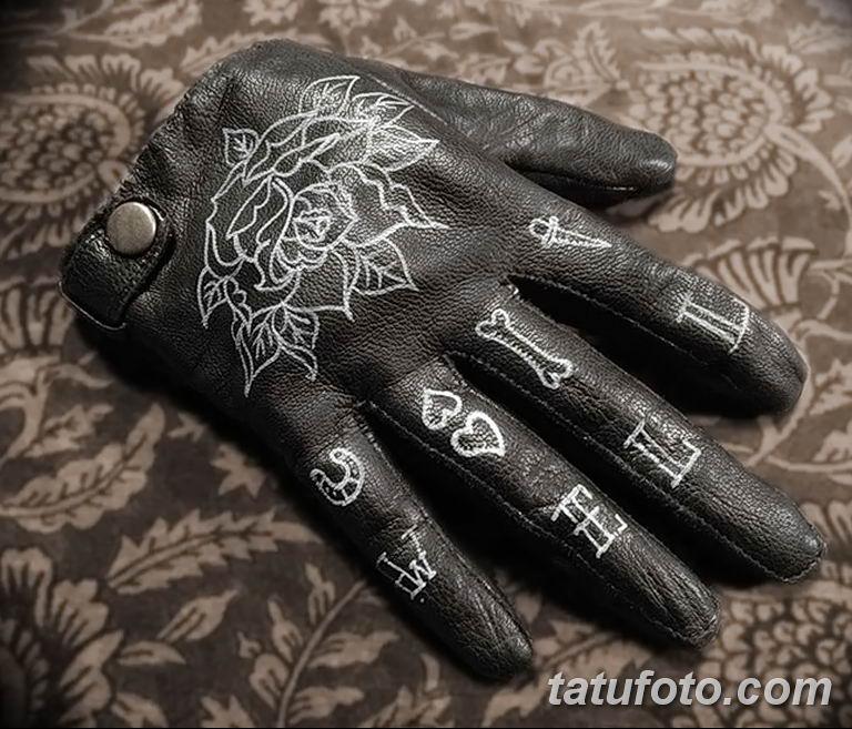 Перчатки с тату - фото 3