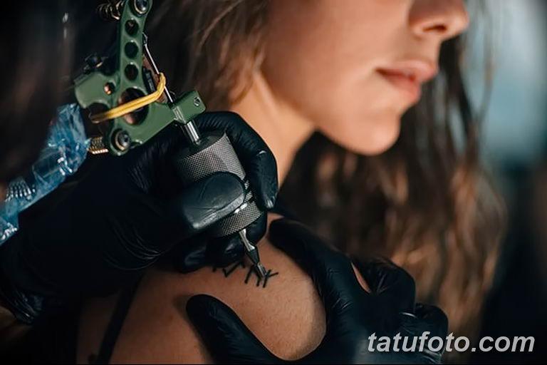Фото проблемного места для нанесения тату - зоны трения