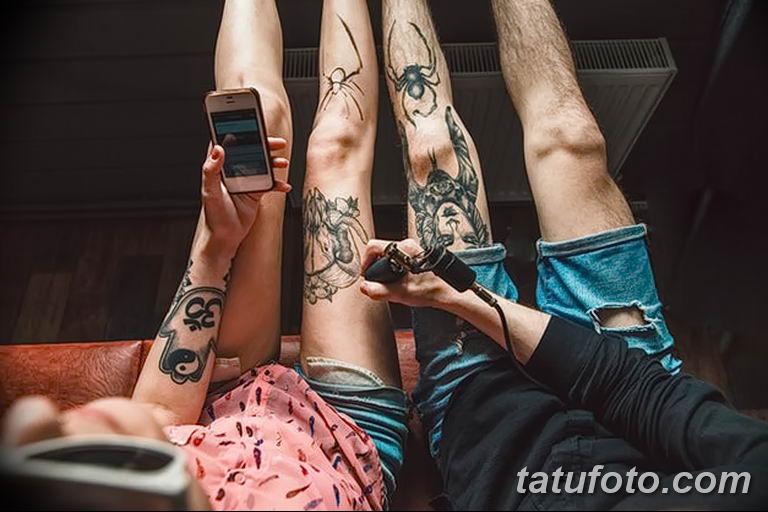 Фото проблемного места для нанесения тату - область регулярного бритья